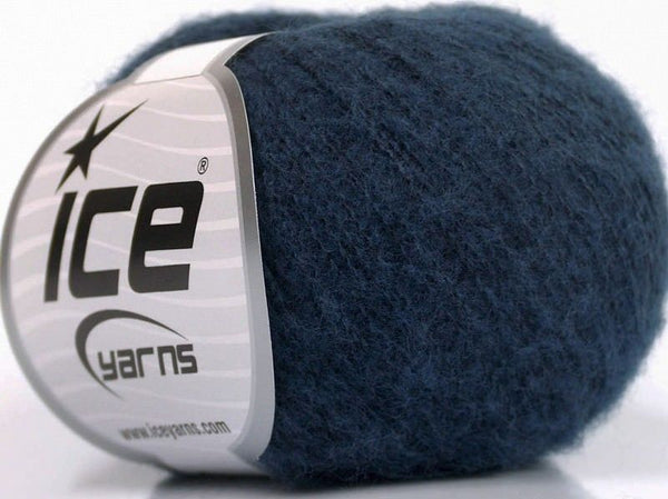 30g Kid Mohair Comfort Navy Ice Yarns Strickwolle Ice Yarns - Hungariana Garn und Strickwolle Online Shop