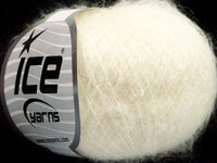 30g Kid Mohair Fine Ecru Ice Yarns Strickwolle Ice Yarns - Hungariana Garn und Strickwolle Online Shop