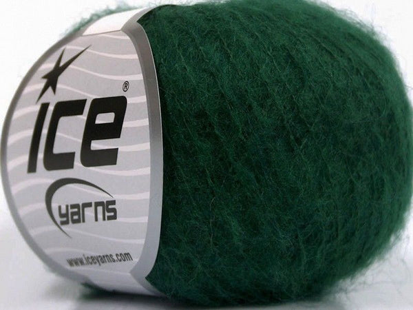 30g Kid Mohair Fine Grün Ice Yarns Green Strickwolle Ice Yarns - Hungariana Garn und Strickwolle Online Shop