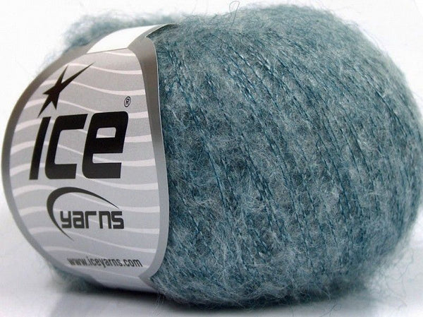 30g Kid Mohair Fine Jeans Blue Ice Yarns Strickwolle Ice Yarns - Hungariana Garn und Strickwolle Online Shop
