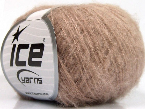 30g Kid Mohair Fine Rose Pink Ice Yarns Strickwolle Ice Yarns - Hungariana Garn und Strickwolle Online Shop