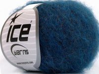 30g Kid Mohair Fine Turquoise Melange Ice Yarns Strickwolle Ice Yarns - Hungariana Garn und Strickwolle Online Shop