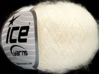 30g Kid Mohair Flamme Cream Ice Yarns Strickwolle Ice Yarns - Hungariana Garn und Strickwolle Online Shop