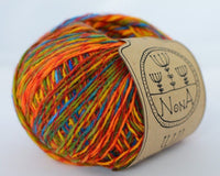 50g Lace Wolle mit Farbverlauf NoNA WooL Rusty Leaves Strickwolle Ice Yarns - Hungariana Garn und Strickwolle Online Shop