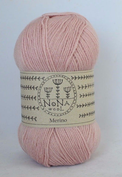 100g MERINOWOLLE Strickwolle NoNA WooL Merino Antique Rose Strickwolle Ice Yarns - Hungariana Garn und Strickwolle Online Shop