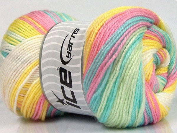 100g Magic Baby Baby Colors Ice Yarns Strickwolle - Fest Keks Lebkuchen & Keks für jede Feier