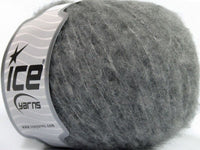 50g Merino Comfort Light Grey Melange Ice Yarns Grau Strickwolle Ice Yarns - Hungariana Garn und Strickwolle Online Shop