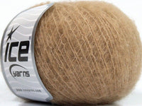 30g Merino Extrafine Comfort Light Brown Ice Yarns Strickwolle Ice Yarns - Hungariana Garn und Strickwolle Online Shop