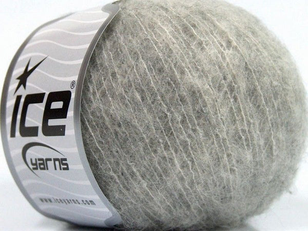 30g Merino Extrafine Comfort Light Grey Ice Yarns Hell Grau Strickwolle Ice Yarns - Hungariana Garn und Strickwolle Online Shop