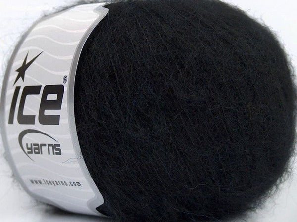 30g Merino Superfine Black Ice Yarns Schwarz Strickwolle Ice Yarns - Hungariana Garn und Strickwolle Online Shop