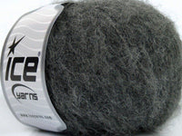 Merino Superfine Dark Grey Ice Yarns Dunkel Grau