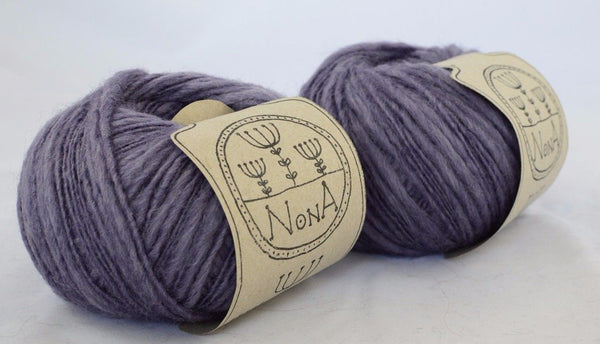 50g Merinowolle zum Stricken NoNA WooL Merino Mayfield Lavendel Strickwolle Ice Yarns - Hungariana Garn und Strickwolle Online Shop
