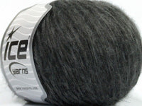 50g Hermano Mohair Dark Grey Ice Yarns Strickwolle Ice Yarns - Hungariana Garn und Strickwolle Online Shop