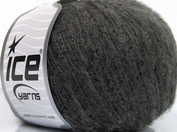 30g Natalie Alpaca Superfine Dark Grey Ice Yarns Grau Strickwolle Ice Yarns - Hungariana Garn und Strickwolle Online Shop