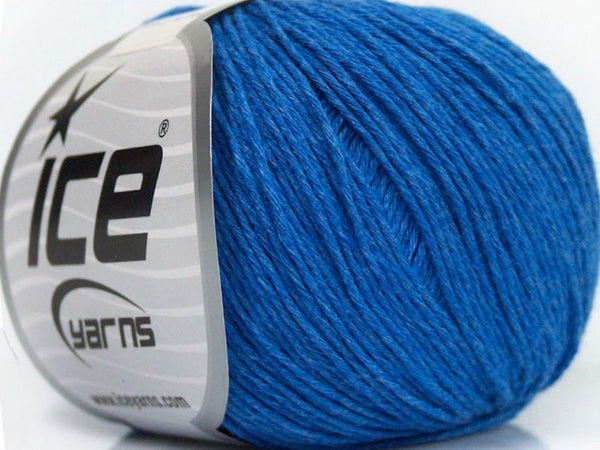 Natural Cotton Baby Blue Ice Yarns 49123