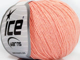 50g Natural Cotton Baby Light Salmon Ice Yarns Hell Lachs Baumwolle Strickwolle - Fest Keks Lebkuchen & Keks für jede Feier