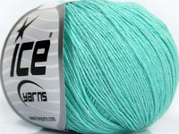 50g Natural Cotton Baby Mint Green Ice Yarns Strickwolle - Fest Keks Lebkuchen & Keks für jede Feier