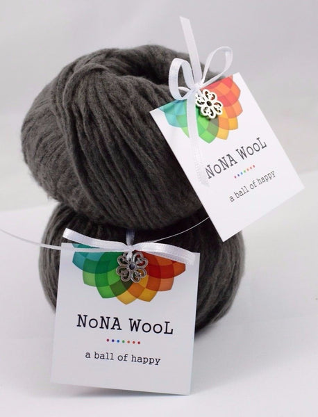 50g NoNA WooL Alpaca Soft Grau Strickwolle Ice Yarns - Hungariana Garn und Strickwolle Online Shop