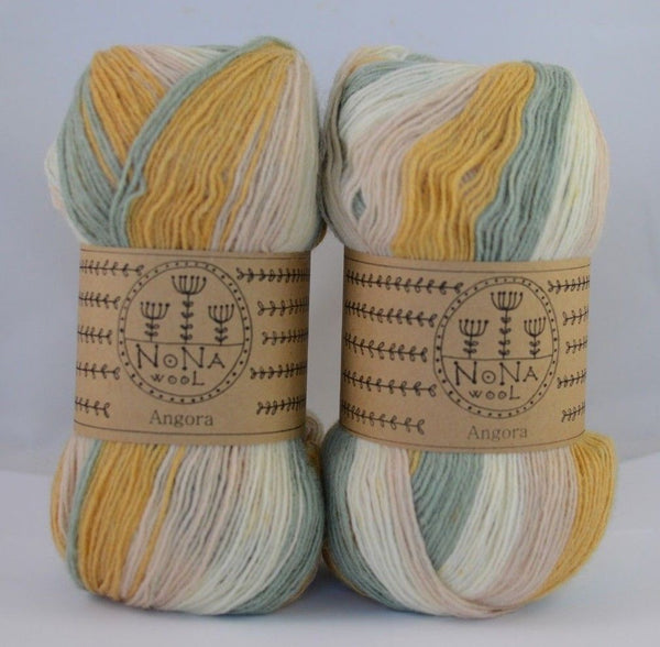 100g NoNA WooL Angora Shell Beach Strickwolle Ice Yarns - Hungariana Garn und Strickwolle Online Shop