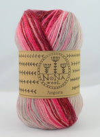100g NoNA WooL Angora Wineberry Strickwolle Ice Yarns - Hungariana Garn und Strickwolle Online Shop