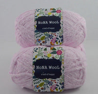 100g NoNA WooL Bamboo Baby Pink Strickwolle Ice Yarns - Hungariana Garn und Strickwolle Online Shop