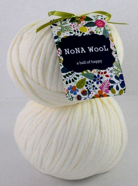 100g NoNA WooL Bamboo Pura Cream Strickwolle Ice Yarns - Hungariana Garn und Strickwolle Online Shop