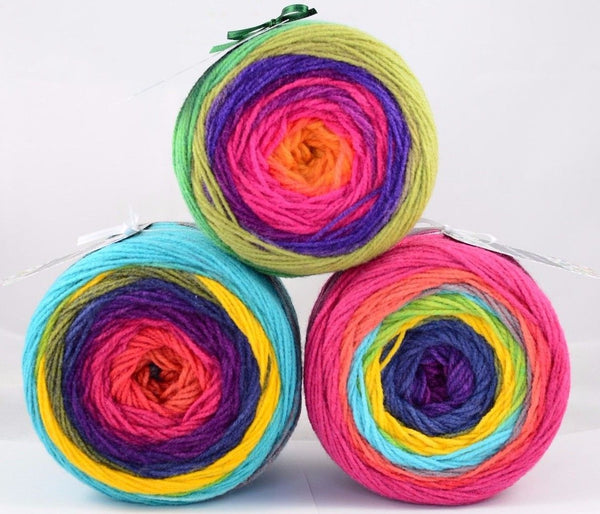 140g NoNA WooL Cake Avana Strickwolle Ice Yarns - Hungariana Garn und Strickwolle Online Shop