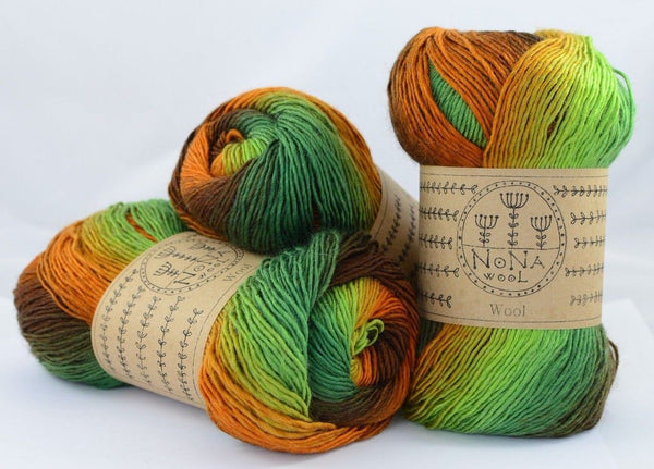 100g NoNA WooL Jungle Strickwolle Ice Yarns - Hungariana Garn und Strickwolle Online Shop