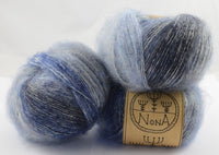 50g NoNA WooL Lano Colori Blue Montain Strickwolle Ice Yarns - Hungariana Garn und Strickwolle Online Shop
