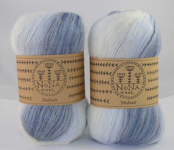 100g NoNA WooL Mohair Aries Strickwolle Ice Yarns - Hungariana Garn und Strickwolle Online Shop