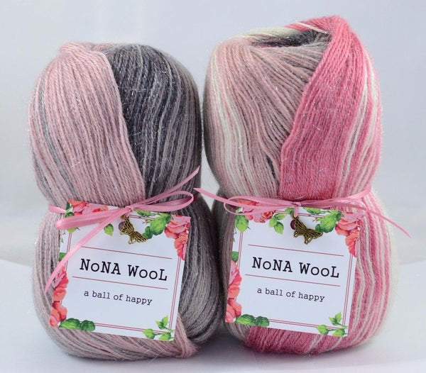 100g NoNA WooL Mohair Glamour Marmaris Strickwolle Ice Yarns - Hungariana Garn und Strickwolle Online Shop
