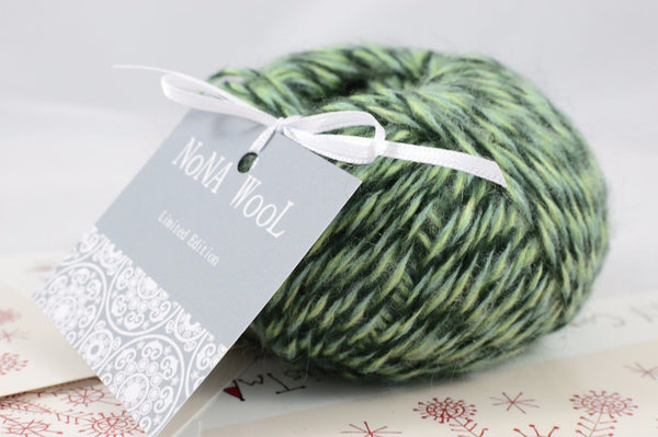 50g NoNA WooL Mohair Green Gables Limited Edition Strickwolle Ice Yarns - Hungariana Garn und Strickwolle Online Shop