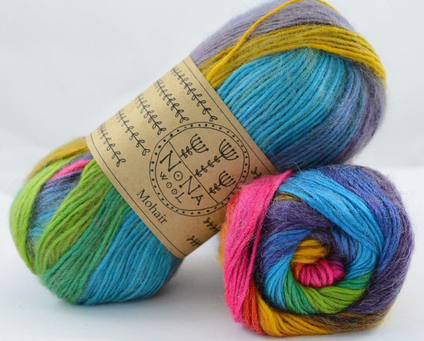 100g NoNA WooL Mohair Mantra Strickwolle Ice Yarns - Hungariana Garn und Strickwolle Online Shop
