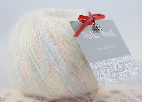 50g NoNA WooL Mohair Cloudlet Strickwolle Ice Yarns - Hungariana Garn und Strickwolle Online Shop