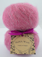 50g NoNA WooL Mohair Peony Strickwolle Ice Yarns - Hungariana Garn und Strickwolle Online Shop