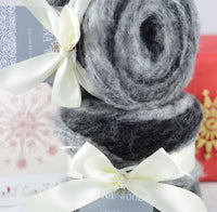 150g NoNA WooL Winter Cake Obsidian Limited Edition Strickwolle Ice Yarns - Hungariana Garn und Strickwolle Online Shop