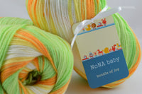 100g NoNA Baby April Strickwolle Ice Yarns - Hungariana Garn und Strickwolle Online Shop