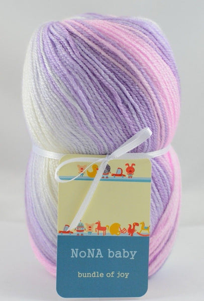 100g NoNA Baby Purple Strickwolle Ice Yarns - Hungariana Garn und Strickwolle Online Shop