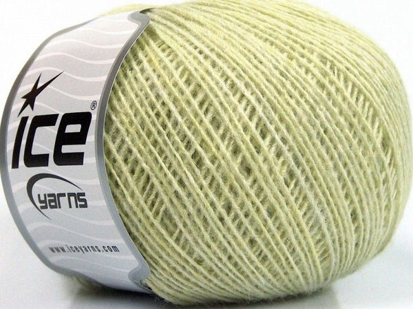 50g Peru Alpaca Fine Light Green Melange Ice Yarns Strickwolle Ice Yarns - Hungariana Garn und Strickwolle Online Shop