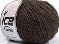 50g Peru Alpaca Worsted Brown Melange Ice Yarns Strickwolle Ice Yarns - Hungariana Garn und Strickwolle Online Shop
