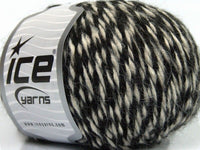 50g Peru Alpaca Worsted White Black Ice Yarns Weiss Schwarz Strickwolle Ice Yarns - Hungariana Garn und Strickwolle Online Shop