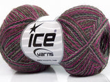 50g Ply Baby Alpaca Pink Grey Shades Camel Ice Yarns Strickwolle Ice Yarns - Hungariana Garn und Strickwolle Online Shop