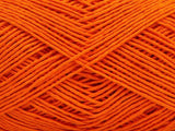 100g Pure Cotton Light Orange Hell Orange Ice Yarns Strickwolle Ice Yarns - Hungariana Garn und Strickwolle Online Shop