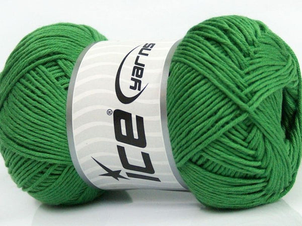 100g Pure Cotton Light Green Ice Yarns Strickwolle Ice Yarns - Hungariana Garn und Strickwolle Online Shop