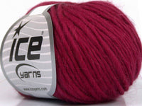 50g Pure Wool Chunky Burgundy Ice Yarns Strickwolle Ice Yarns - Hungariana Garn und Strickwolle Online Shop