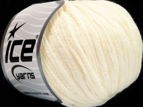 50g Ribbon Wool Cream Ice Yarns Strickwolle Ice Yarns - Hungariana Garn und Strickwolle Online Shop