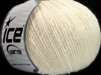 50g Rondo Wool White Ice Yarns Weiss Strickwolle Ice Yarns - Hungariana Garn und Strickwolle Online Shop