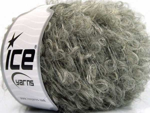 50g Sale Boucle Grey Beige Ice Yarns Strickwolle Ice Yarns - Hungariana Garn und Strickwolle Online Shop