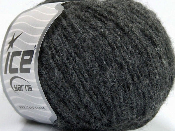 Sale Luxury-Premium Dark Grey Melange Ice Yarns
