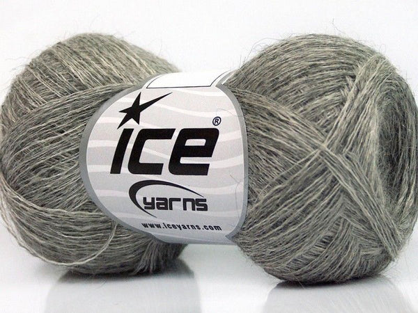 50g Sale Luxury-Premium Grey Shades Ice Yarns Strickwolle - Fest Keks Lebkuchen & Keks für jede Feier